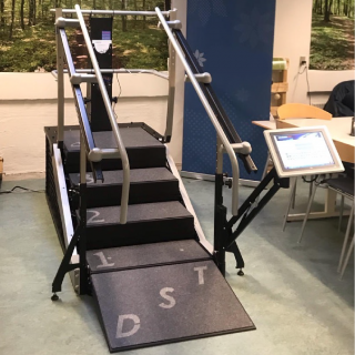 Trappetræning Dynamic Stair Trainer 8000 Pro